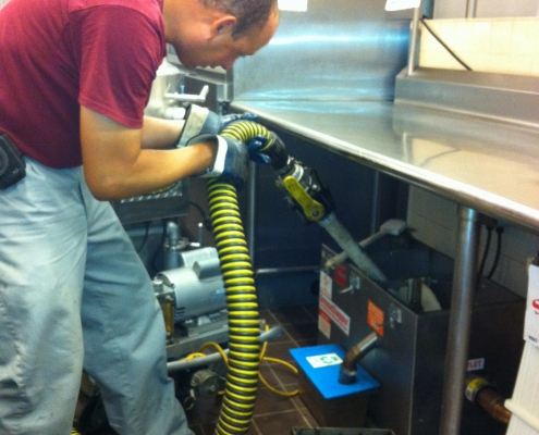 Grease Trap Cleaning with Moon Portable Restrooms