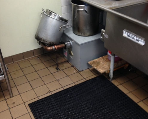 Grease Trap in Louisville Kentucky Restaurant