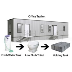 Field Office Trailer Available at Moon Grease Trap Cleaning